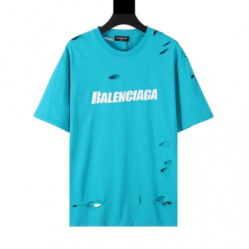 Balenciaga T-Shirts Short Sleeved For Men #874308