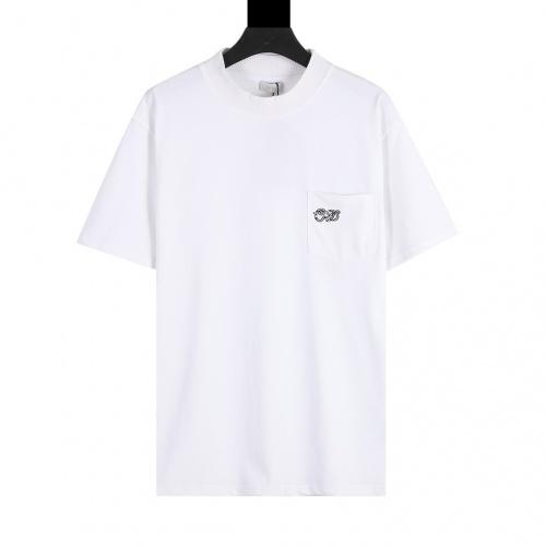 Christian Dior T-Shirts Short Sleeved For Men #874311