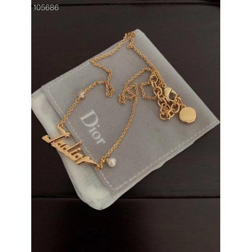 Christian Dior Necklace #874402 $32.00 USD, Wholesale Replica Christian Dior Necklace