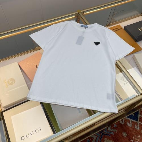 Prada T-Shirts Short Sleeved For Men #874604