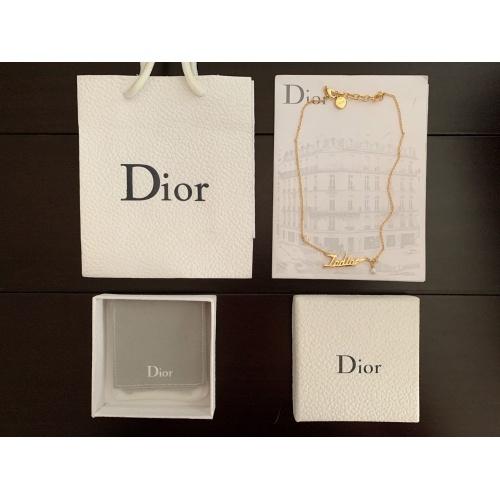 Christian Dior Necklace #874755 $32.00 USD, Wholesale Replica Christian Dior Necklace