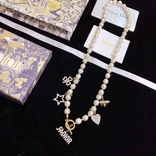 Christian Dior Necklace #874758 $41.00 USD, Wholesale Replica Christian Dior Necklace