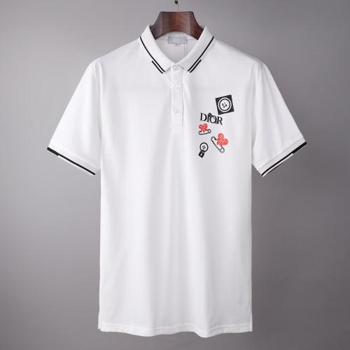 Christian Dior T-Shirts Short Sleeved For Men #874930