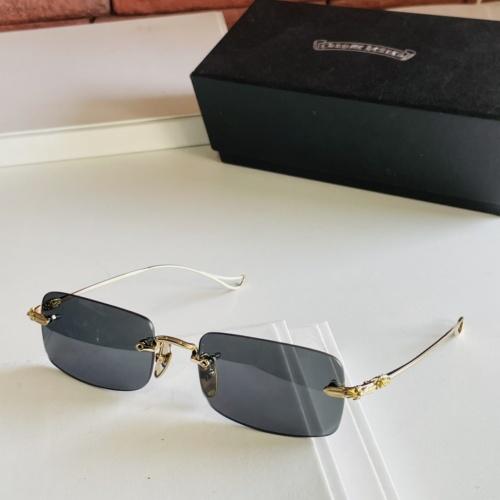 Chrome Hearts AAA Quality Sunglasses #875023