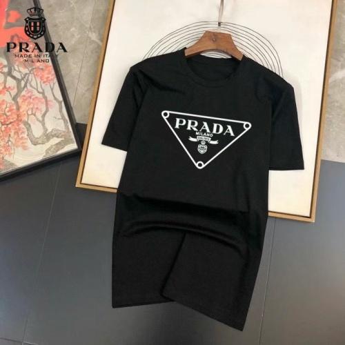 Prada T-Shirts Short Sleeved For Men #875260