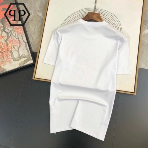 Replica Philipp Plein PP T-Shirts Short Sleeved For Men #875265 $26.00 USD for Wholesale