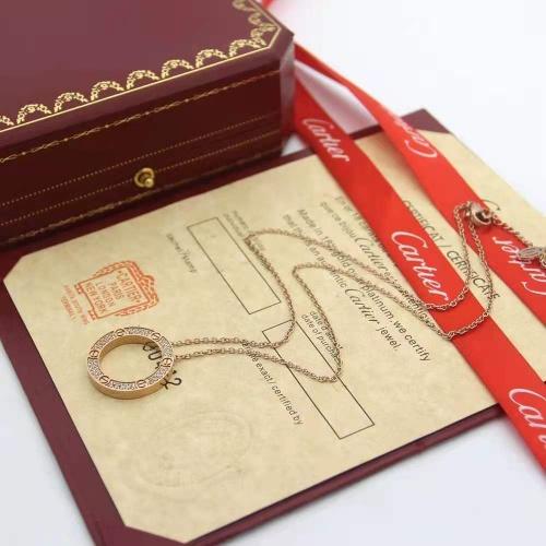 Cartier Necklaces #875286 $45.00 USD, Wholesale Replica Cartier Necklaces