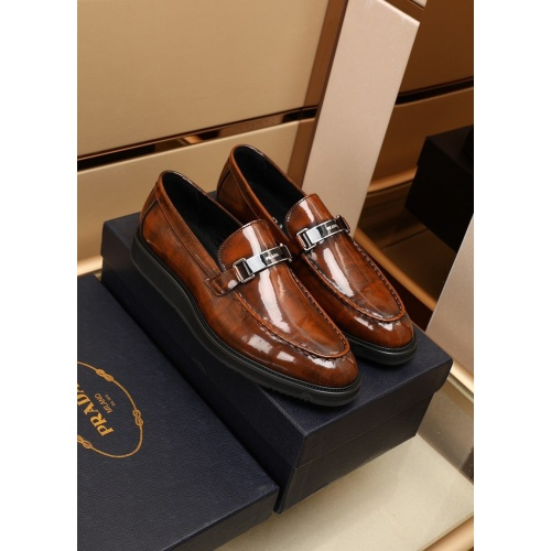 Prada Leather Shoes For Men #875673