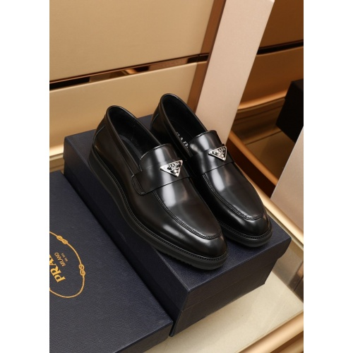 Prada Leather Shoes For Men #875674