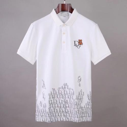Christian Dior T-Shirts Short Sleeved For Men #875853