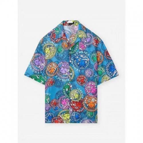 Versace Shirts Short Sleeved For Men #875872