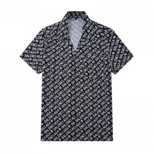 Balenciaga Shirts Short Sleeved For Men #875876