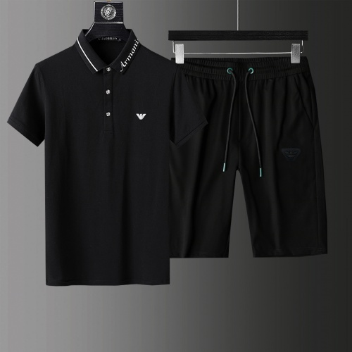 Armani Tracksuits Short Sleeved For Men #876142
