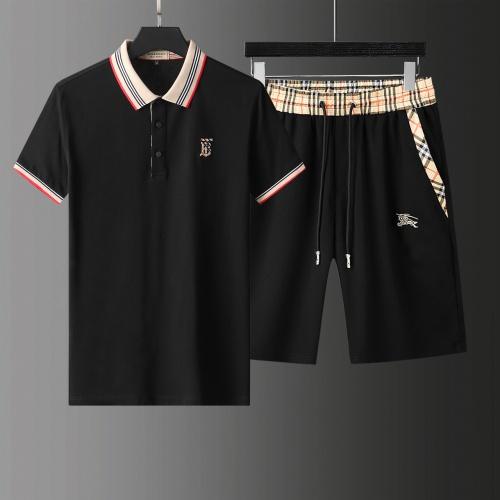 Burberry Tracksuits Short Sleeved For Men #876173