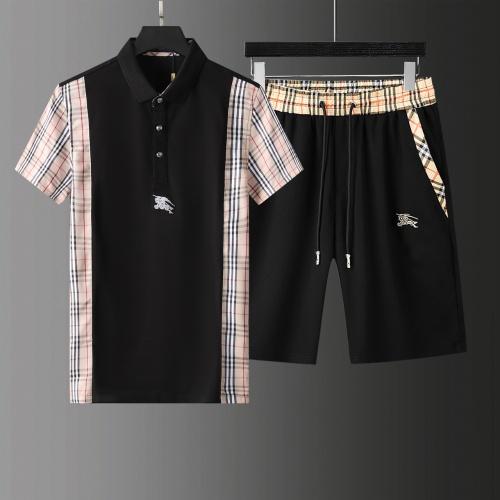 Burberry Tracksuits Short Sleeved For Men #876178