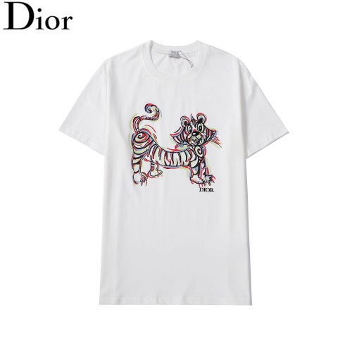 Christian Dior T-Shirts Short Sleeved For Men #876292