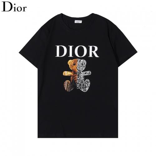 Christian Dior T-Shirts Short Sleeved For Men #876297