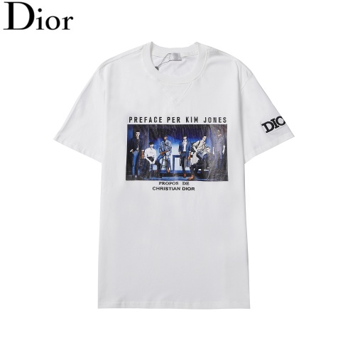 Christian Dior T-Shirts Short Sleeved For Men #876319
