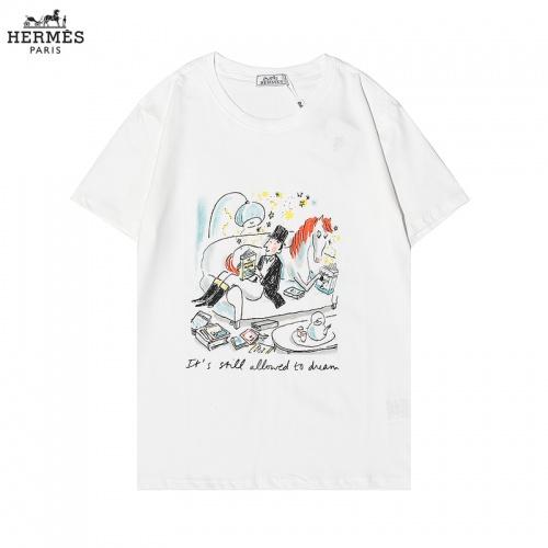 Hermes T-Shirts Short Sleeved For Men #876325