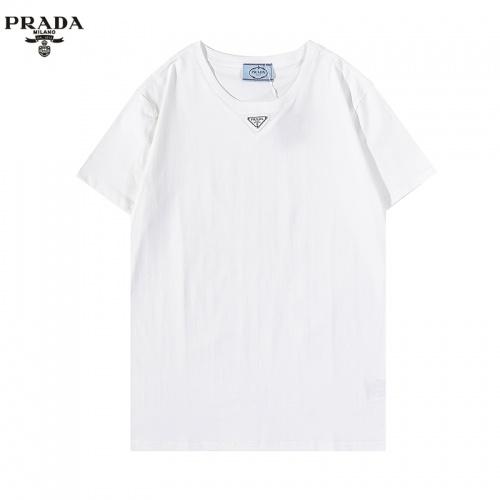 Prada T-Shirts Short Sleeved For Men #876371