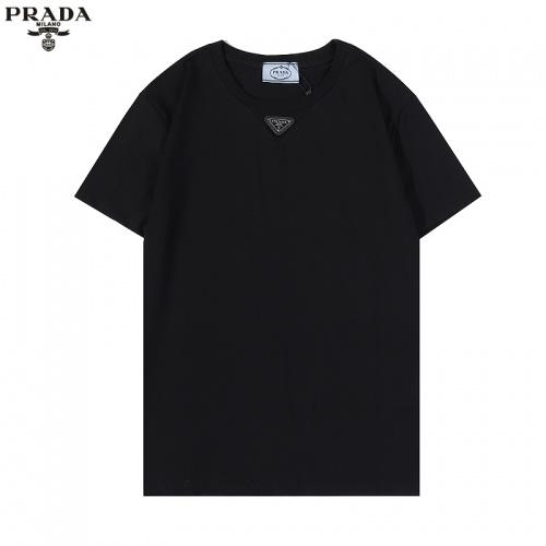 Prada T-Shirts Short Sleeved For Men #876372