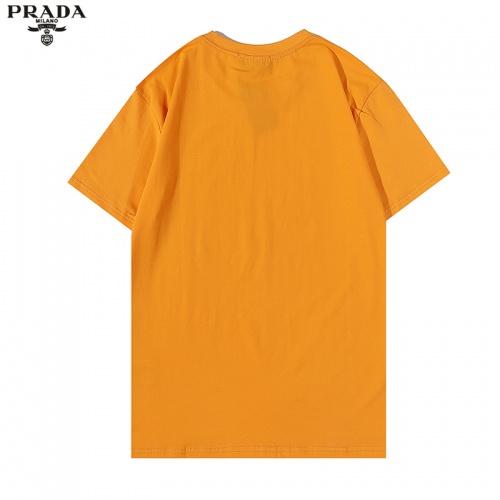 Prada T-Shirts Short Sleeved For Men #876373