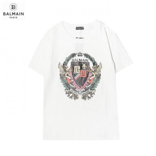 Balmain T-Shirts Short Sleeved For Men #876546