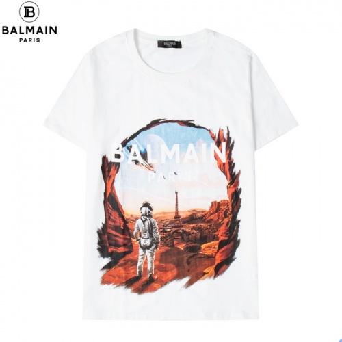 Balmain T-Shirts Short Sleeved For Men #876549