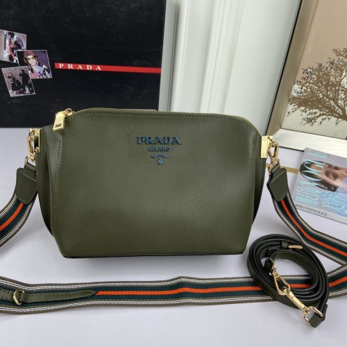Prada AAA Quality Messeger Bags For Women #876988 $92.00 USD, Wholesale Replica Prada AAA Quality Messeger Bags
