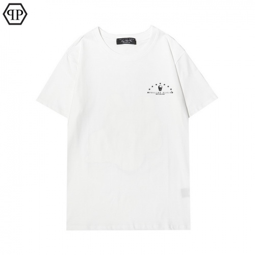 Replica Philipp Plein PP T-Shirts Short Sleeved For Men #877082 $27.00 USD for Wholesale