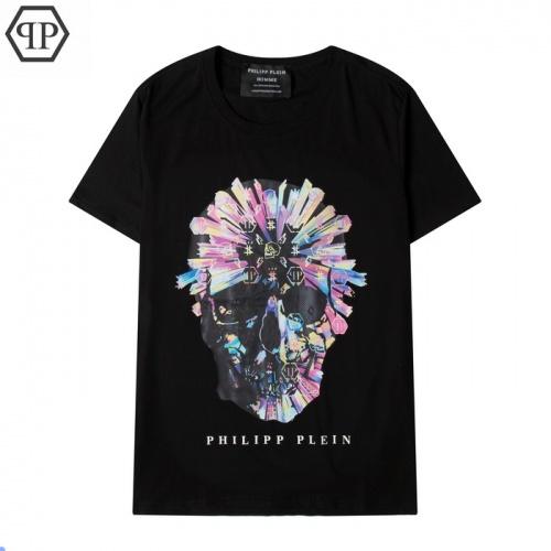 Philipp Plein PP T-Shirts Short Sleeved For Men #877084 $27.00 USD, Wholesale Replica Philipp Plein PP T-Shirts