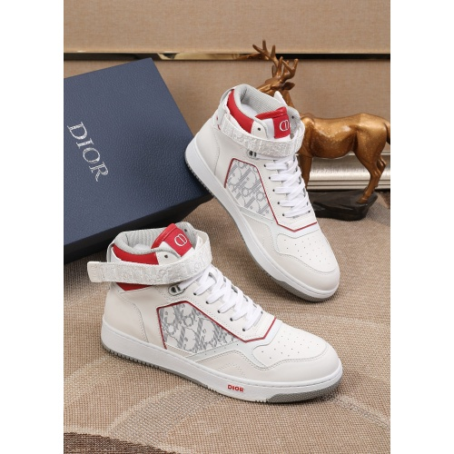 Christian Dior High Tops Shoes For Men #877127