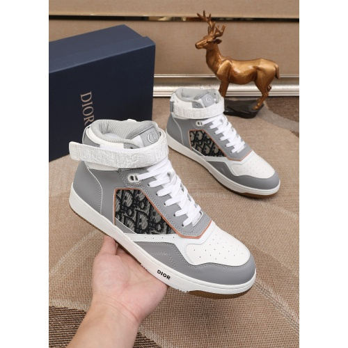Christian Dior High Tops Shoes For Men #877129