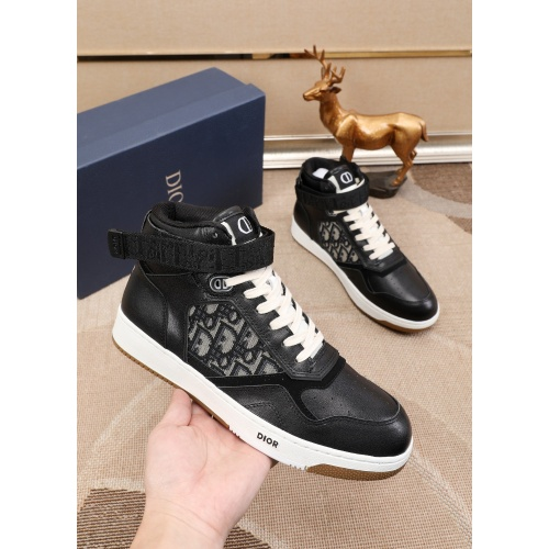 Christian Dior High Tops Shoes For Men #877130