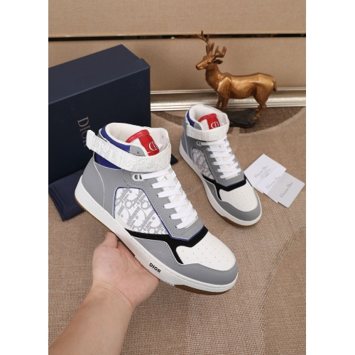 Christian Dior High Tops Shoes For Men #877134