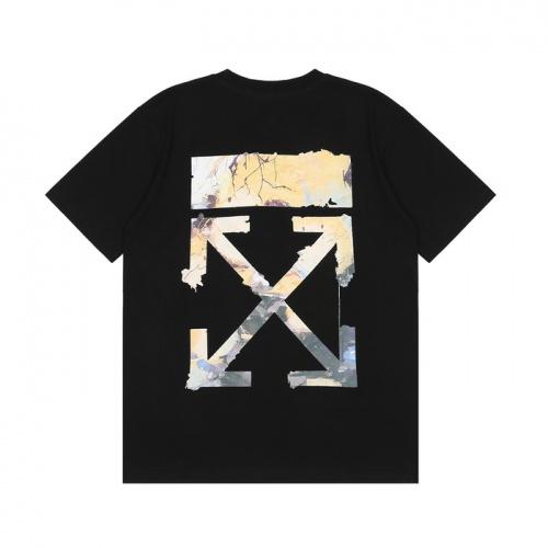 Off-White T-Shirts Short Sleeved For Men #877201