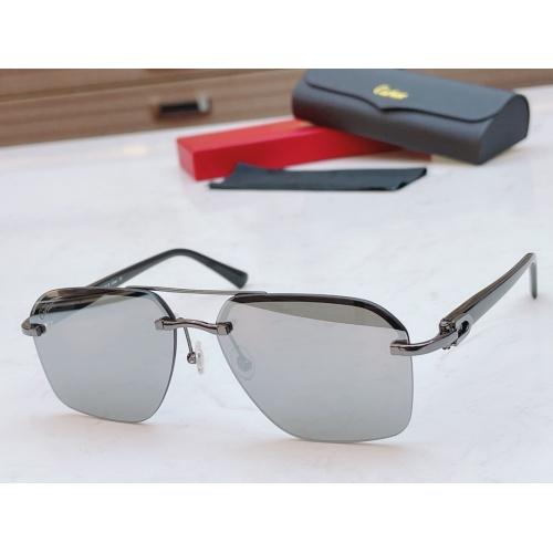 Cartier AAA Quality Sunglasses #877269