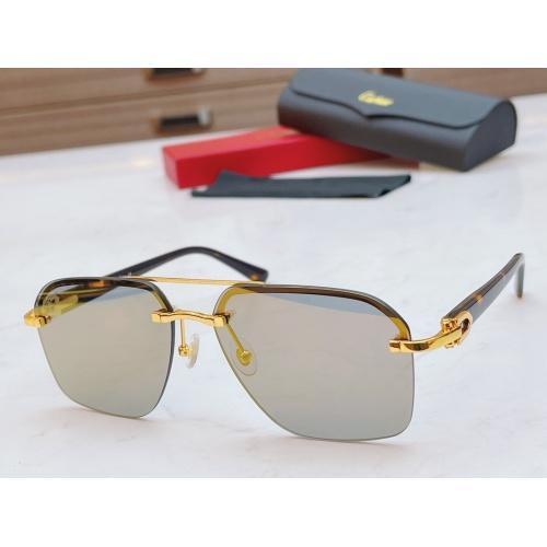 Cartier AAA Quality Sunglasses #877270
