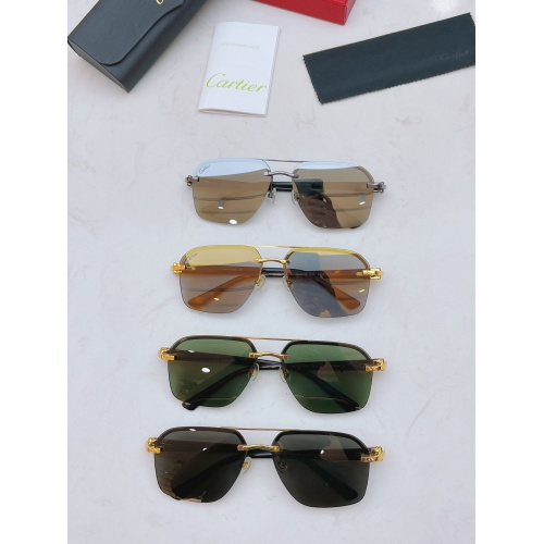 Replica Cartier AAA Quality Sunglasses #877270 $56.00 USD for Wholesale