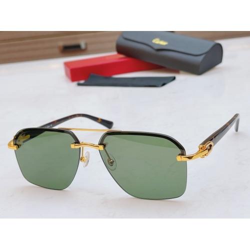 Cartier AAA Quality Sunglasses #877272