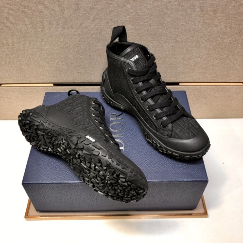 Christian Dior High Tops Shoes For Men #877463