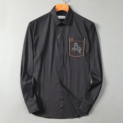 Hermes Shirts Long Sleeved For Men #877581