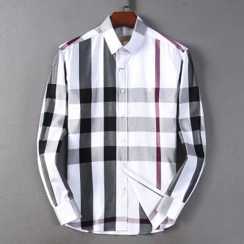 Burberry Shirts Long Sleeved For Men #877588