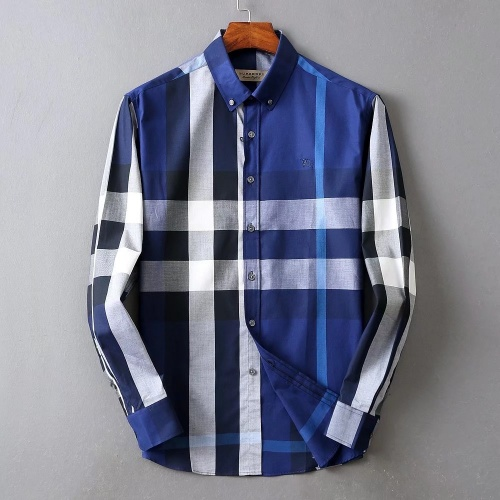 Burberry Shirts Long Sleeved For Men #877593