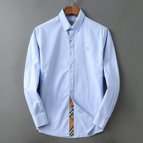 Burberry Shirts Long Sleeved For Men #877661