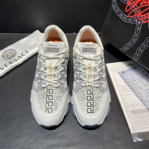 Replica Versace Casual Shoes For Women #877823 $102.00 USD for Wholesale