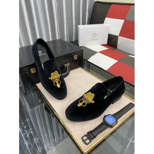 Versace Fashion Shoes For Men #877835 $72.00 USD, Wholesale Replica Versace Fashion Shoes