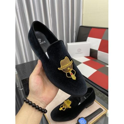Replica Versace Fashion Shoes For Men #877835 $72.00 USD for Wholesale
