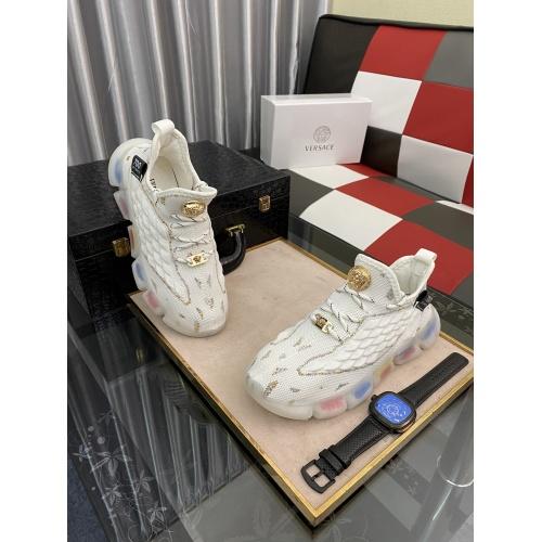 Versace Fashion Shoes For Men #877836 $72.00 USD, Wholesale Replica Versace Fashion Shoes