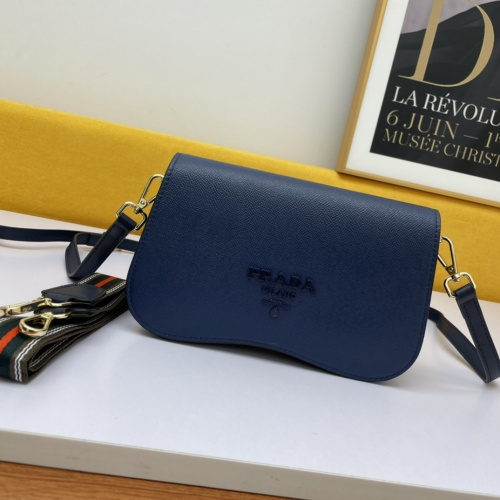 Prada AAA Quality Messeger Bags For Women #877862 $98.00 USD, Wholesale Replica Prada AAA Quality Messeger Bags